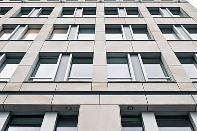 Modern Building Exterior Print by Tom Gowanlock