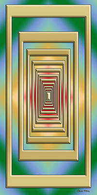 Digital Art - Modern Designs Vertical 3 - Chuck Staley by Chuck Staley