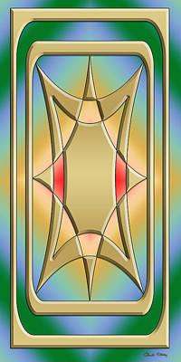 Digital Art - Modern Designs Vertical 4 - Chuck Staley by Chuck Staley
