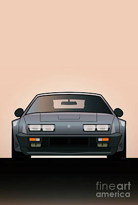 Modern Euro Icons Series Alpine A310 Gt Original by Monkey Crisis On Mars