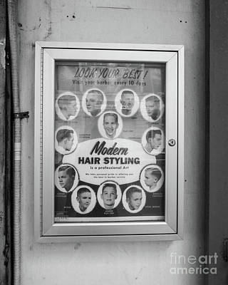 Barber Shop Photograph - Modern Hair Styling Nyc by Edward Fielding