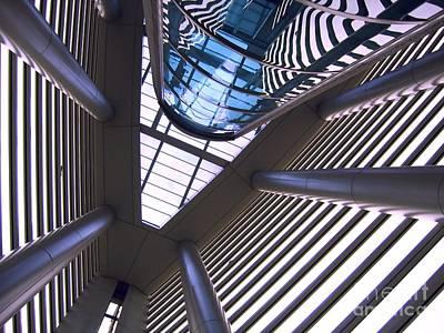 Modern Interior Architecture Print by Yali Shi