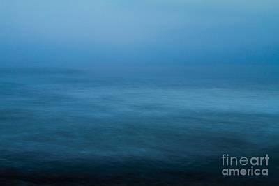 Horizontal Photograph - Modern Ocean Blue by Mingtaphotography