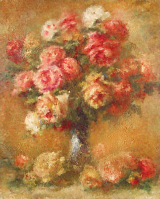 Renoir Mixed Media - Modern Renoir by Georgiana Romanovna