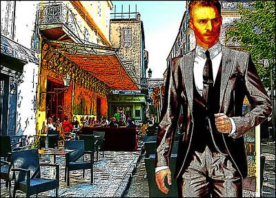 Modern Van Gogh Vii Print by Jose A Gonzalez Jr