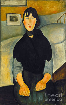 Modigliani: Woman, 1918 Print by Granger