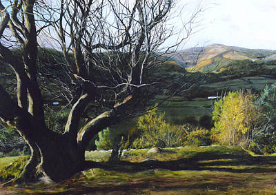 Painting - Moel Famau From Loggerheads by Harry Robertson