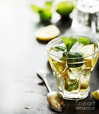Lemon Photograph - Mojito by Jelena Jovanovic