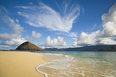 Photograph - Mokulua Island Beach by Dana Edmunds - Printscapes