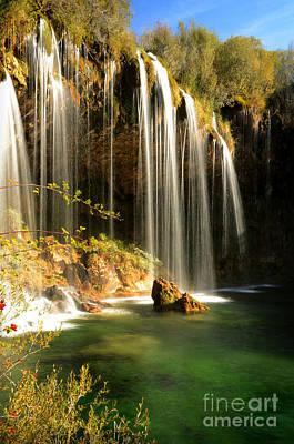 Teruel Photograph - Molino De San Pedro Waterfall by RicardMN Photography