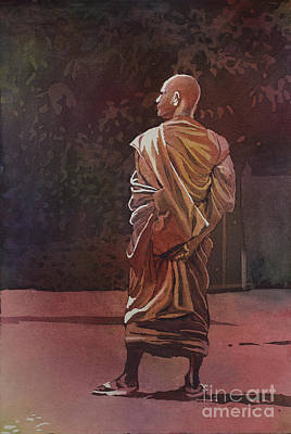 Buddhist Painting - Moment In Time by Ryan Fox