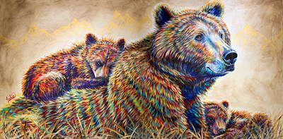 Animals Painting - Home Sweet Home by Teshia Art