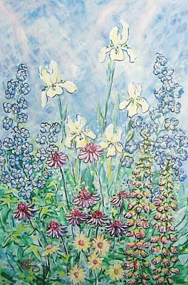 Moms Garden Original by Robert Findley