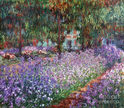 Fine Art Flower Photograph - Monet: Giverny, 1900 by Granger