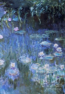 Monet: Waterlilies Print by Granger