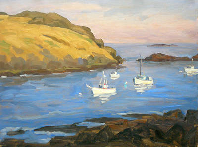 Monhegan Morning Print by Thor Wickstrom