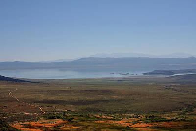 Salt Photograph - Mono Basin Landscape - California by Christine Till