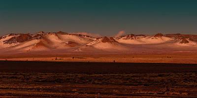 Canon 6d Photograph - Mono Lake Dunes Sunset by Thomas Hall Photography
