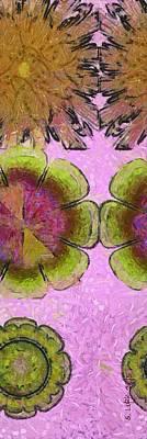 Monoglyceride Placing Flower  Id 16164-220545-11590 Print by S Lurk