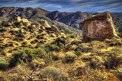 Sonoran Desert Photograph - Monolith Along A Sears-kay Ruins Trail by Roger Passman