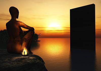 Monolith Digital Art - Monolith by Joseph Soiza