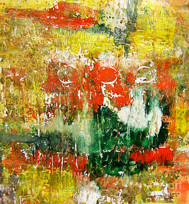 Abstract Painting - Monoprint by Josie Duff