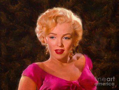 Monroe Print by Sergey Lukashin