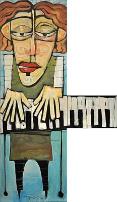 Monsieur Keys Print by Tim Nyberg