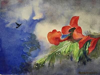 Monsoons  Original by Geeta Biswas