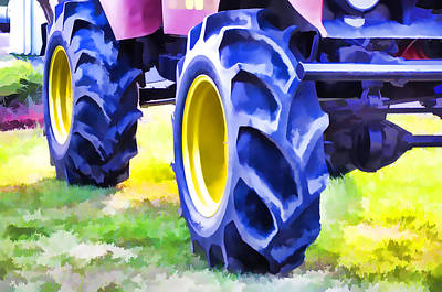 Stadium Crowd Painting - Monster Truck 2 by Lanjee Chee