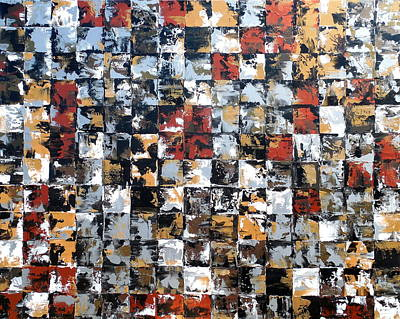 Modern Painting - Montage by Holly Anderson