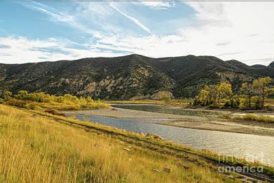 Gallatin River Photograph - Montana Fishing Hole by Jon Burch Photography