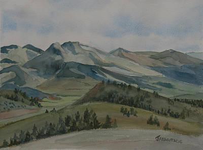 Montana Skyline Print by Jenny Armitage