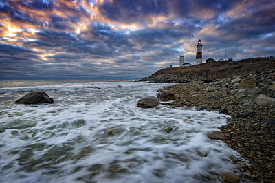 Wind Photograph - Montauk Morning by Rick Berk