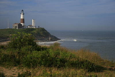 Lighthouse Photograph - Montauk Point by Christopher Kirby