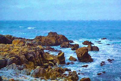 Monterey Coast Print by Impressionist Art