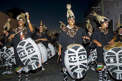 Photograph - Montevideo Carnaval by Kobby Dagan