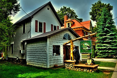 Montezuma Winery In Old Forge Ny Print by David Patterson