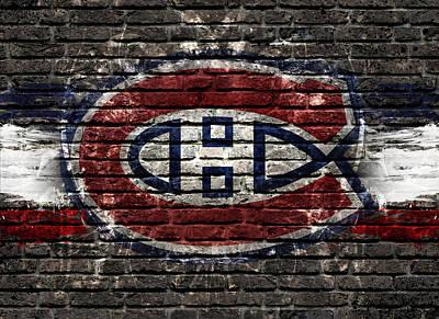 Montreal Canadiens Digital Art - Montreal Canadiens Habshype by Nicholas Legault