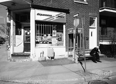Depanneur Photograph - Montreal Depanneur by Reb Frost