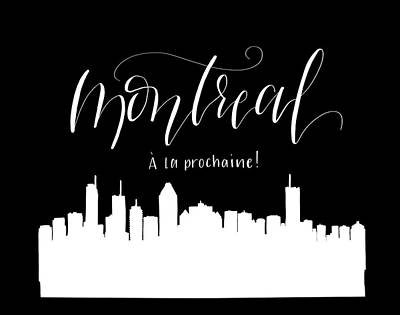 Montreal Cityscapes Drawing - Montreal by Peggy Dean