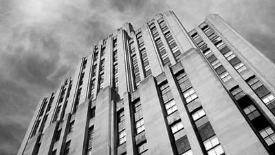 Old Montreal Photograph - Montreal Skyscraper by Valentino Visentini