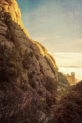 Montserrat Hike Print by Joan Carroll