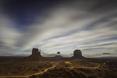 Photograph - Monument Valley by Bill Cantey