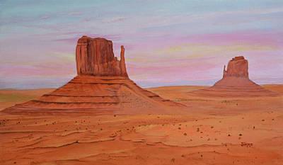 Monument Valley Original by Jimmie Bartlett