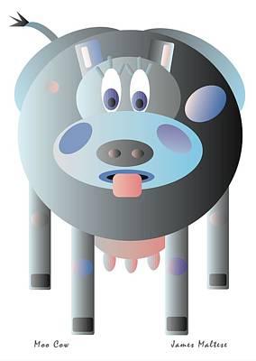 Moo Cow Original by James Maltese