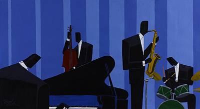 Daniel Painting - Mood Interlude by Darryl Daniels