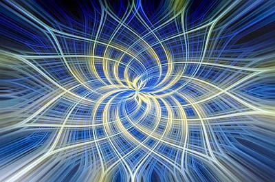 Digital Art - Moody Blue by Carolyn Marshall