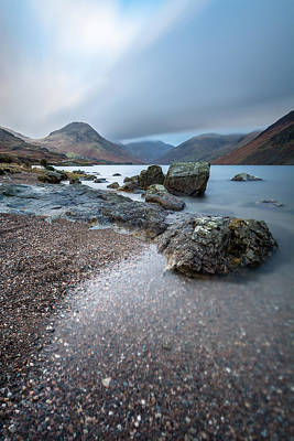 Beauty Photograph - Moody Dawn - Wast Water, Lake District, Uk. by Daniel Kay