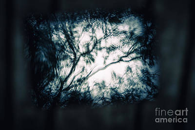 Moody Tablet Reflection Print by Jorgo Photography - Wall Art Gallery